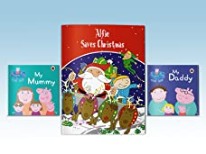 A Choice of Personalised Children's Story Books Including Peppa Pig