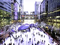 Outdoor Ice Skating Experience for Two or More People at Canary Wharf