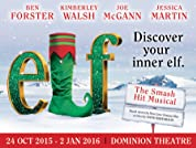 Elf Tickets - Limited Run Until 2nd January Only