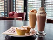 Festive Mince Pies and Drinks at Patisserie Valerie for Two People