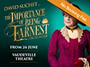 The Importance of Being Earnest Tickets