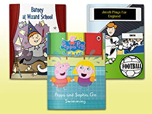 Voucher for a Personalised Children's Softcover Book