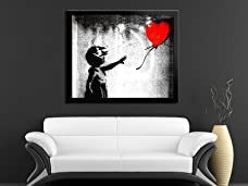 Voucher for a Choice of Framed Banksy Art Prints