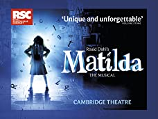 Tickets to Matilda The Musical at the Cambridge Theatre in London