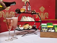 Afternoon Tea for Two with Prosecco in Victorian Gothic Mansion