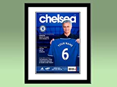 Voucher for a Personalised Football Magazine Cover in a Frame