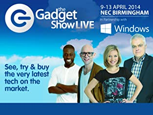 Tickets to The Gadget Show Live at the NEC Birmingham