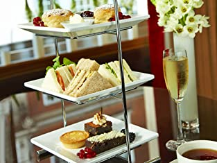 Double AA Rosette Champagne Afternoon Tea for Two