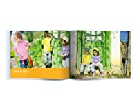 24, 50 or 100-Page Large Landscape Photo Book with Photo Cover Including Delivery
