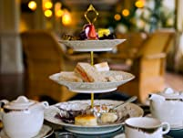 Decadent Afternoon Tea at Flitwick Manor for Two with Champagne Option