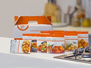 Voucher for a Premium Curry Hamper with 22 Curry Mixes