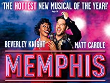 Memphis The Musical Tickets - Exclusive Show of the Month Offer