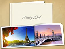 Lifetime Memory Book with 24, 48 or 96 Pages
