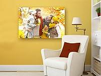 Personalised Landscape or Portrait Canvas