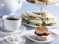 Chocolate Afternoon Tea with Prosecco and Spa Access for Two People