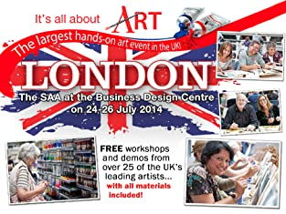 Early Bird Ticket to It's All About Art 2014 in Islington