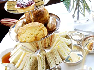 Indulgent Champagne Afternoon Tea at The Bentley Hotel for Two