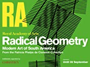 Entry to Radical Geometry: Modern Art of South America Exhibition