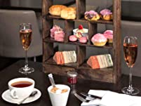 Central London Afternoon Tea with Pink Champagne for Two People