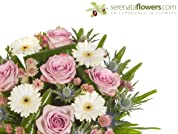 A Choice of Three Flower Bouquets with Delivery Included
