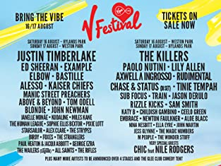 Day and Weekend Tickets to V Festival: Hylands Park