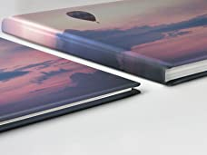 Premium A4 Photobook with Layflat Binding and Photo Cover