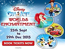 Tickets to Disney On Ice Worlds of Enchantment at The Manchester Arena