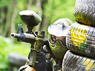 Adult Paintballing for 5, 10 or 20 people with 100 paintballs each