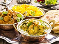 Indian Meal with Sides for Two or More People