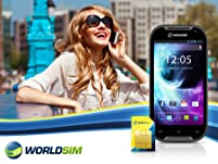 Voucher for a Choice of Dual SIM Pay-As-You-Go Travel Phones Plus £20 Credit