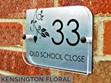 Personalised House Sign with a Choice of Three Designs