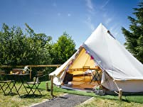Glamping Stay in Gower Peninsula with Breakfast