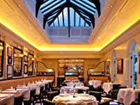 Classic Three-Course French Fine Dining at Boulestin with a Glass of Champagne