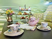 Mad Hatter's Afternoon Tea Party for Two People