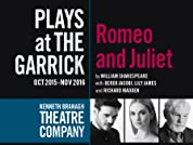 Tickets to Romeo and Juliet Directed by Kenneth Branagh