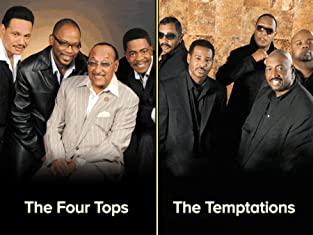 Ticket to The Four Tops and The Temptations Plus The Platters and Freda Payne