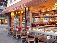 Patisserie Valerie - Speciality Sandwich, Gateau Slice and a Hot Drink
