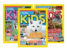 Six-Month Subscription to National Geographic Kids Magazine