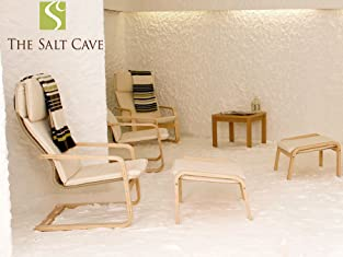 One-Hour Salt Cave Therapy Session for One Person