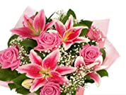 Choice of Three Flower Bouquets with Delivery Included