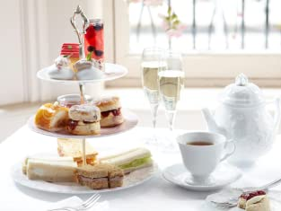A Choice of Traditional or Champagne Afternoon Tea for Two