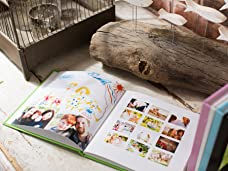A Choice of 26 or 100 Page Personalised Photo Books