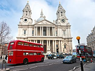 Open-Top Vintage Bus Tour of London with River Thames Cruise