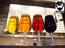 BrewDog Beer Tasting and Talk with Five BrewDog Beers, Cheese and Meats for Two People