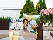 Personalised Photo Print Cushion in a Range of Sizes