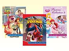 Personalised Kid's Photo Adventure Story Books with Disney, Marvel and Nickelodeon Characters