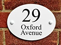 Personalised Oxford House Sign