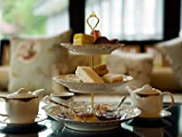 Afternoon Tea with a Glass of Prosecco for Two People