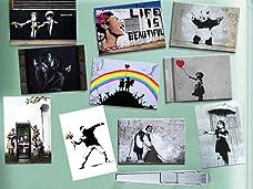Banksy Street Art 10 Piece Magnet Set