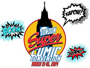 Tickets to London Super Comic Convention 2014